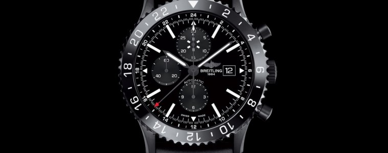 Breitling-Chronoliner-Blacksteel