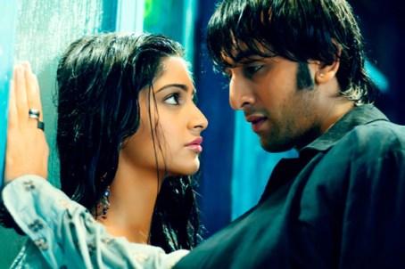 Ranbir and Sonam in Saawariya