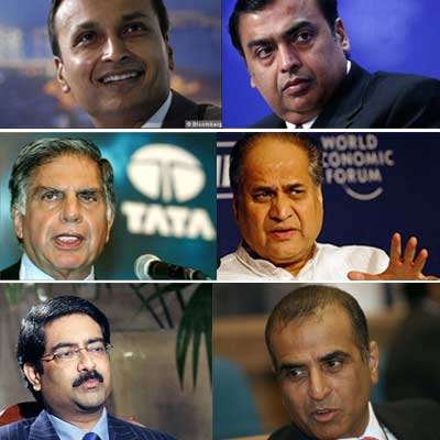 Handwriting analysis of India's top 6 businessmen