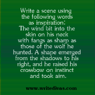 Writing Prompts: The Wolf