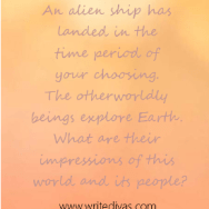 Writing Prompt: Through The Eyes of an Alien