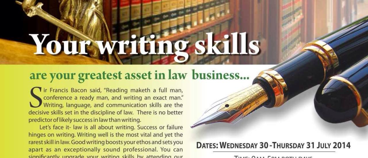 Legal Writing Workshop
