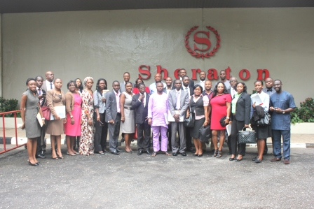 Participants at the legal-writing workshop, Sheraton, Lagos, July 30-31 2014.