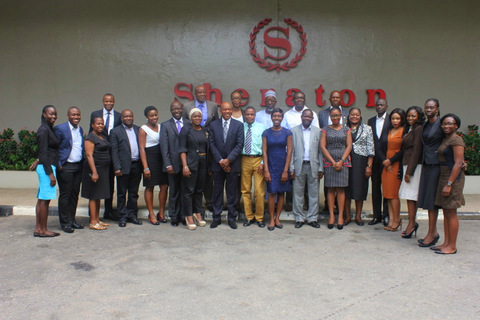 Cross-section of participants, legal-writing workshop phoho