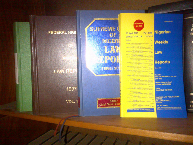 Law reports 1