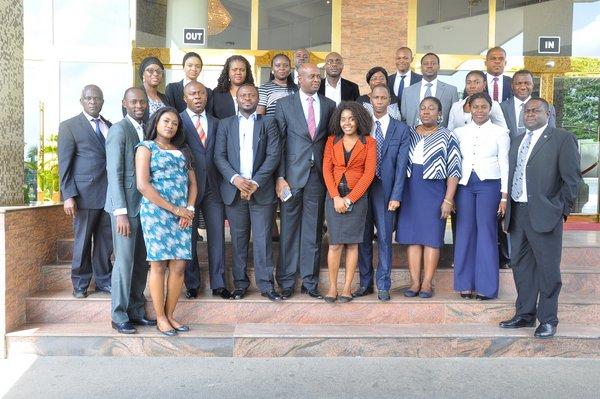 Participants at Brief Writing Masterclass, 24-25 June 2015, Chelsea Hotel Abuja.