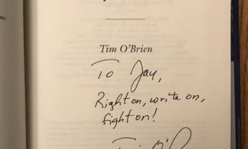 Be a donkey: Meeting Tim O'Brien… again