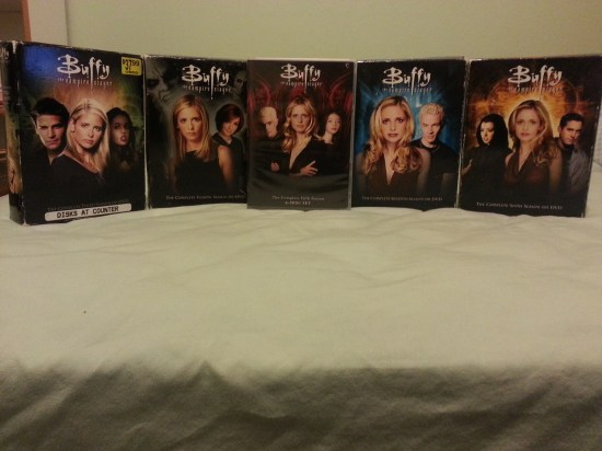 Buffy DVD Set