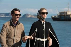 Alexander and Victoria Vinciguerra,  the common enemy. Image from The Man from U.N.C.L.E.