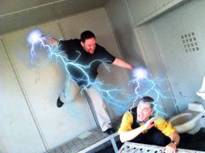 fighting with powers