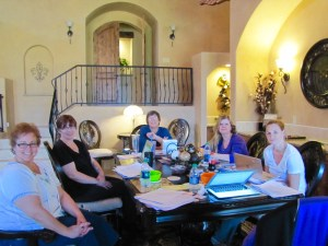 2016, March, Darynda's Imm, All Around Table
