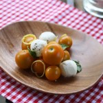 best tomato mozzarella salad with lemon zest | writes4food.com