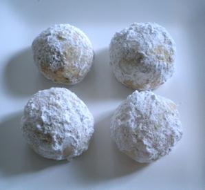 recipe for pecan dream cookies (aka Mexican Wedding Cookies)   writes4food.com