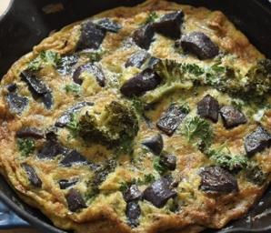 spring vegetable frittata recipe