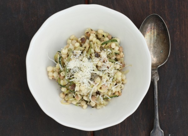 pasta with zucchini | writes4food.com