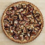 beautiful fig tart