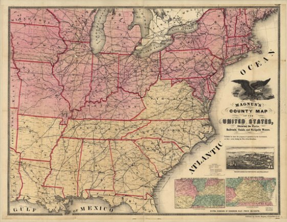 Civil-War-era-map