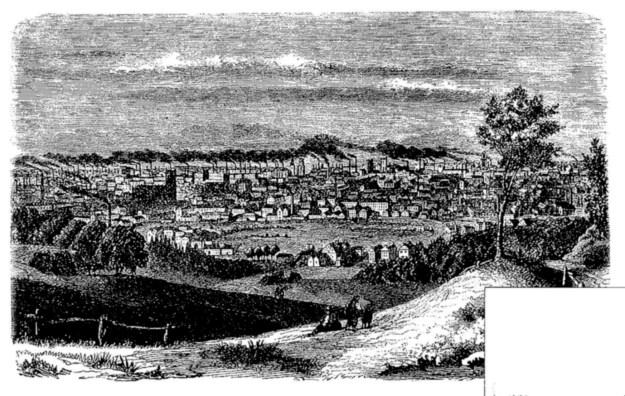 Manchester England, 1850