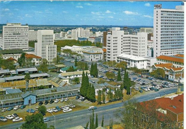 Salisbury/Harare in the 1960's