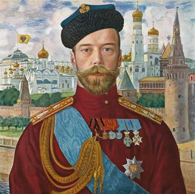 "Boris Kustodiev ""Tsar Nicholas II"" (1915)"