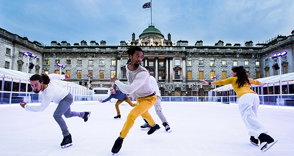 Le Patin Libre at Somerset House (photo: Alicia Clarke)