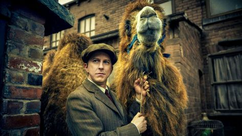 Actor Lee Ingelby plays Chester Zoo founder George Mottershead in new BBC drama Our Zoo
