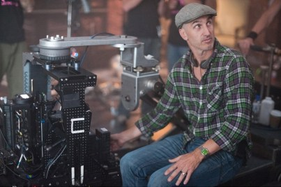"""FRIGHT NIGHT"" FN-243 Director Craig Gillespie gets ready for action on the set of DreamWorks PicturesÕ ÒFright Night,Ó a reimagining of the cult horror classic. ÒFright NightÓ is produced by Michael De Luca and Alison Rosenzweig. Ph: John Bramley ©DreamWorks II Distribution Co., LLC. ÊAll Rights Reserved."