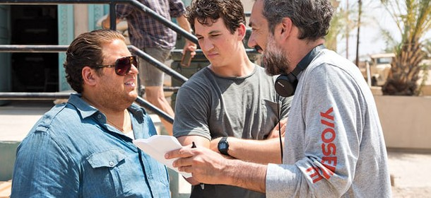 Todd Philips on set of War Dogs