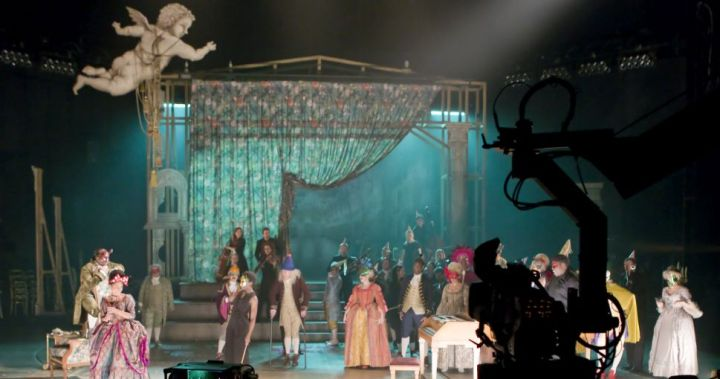 7. Behind the scenes at the Amadeus camera rehearsal. Photo by Ludovic des Cognets
