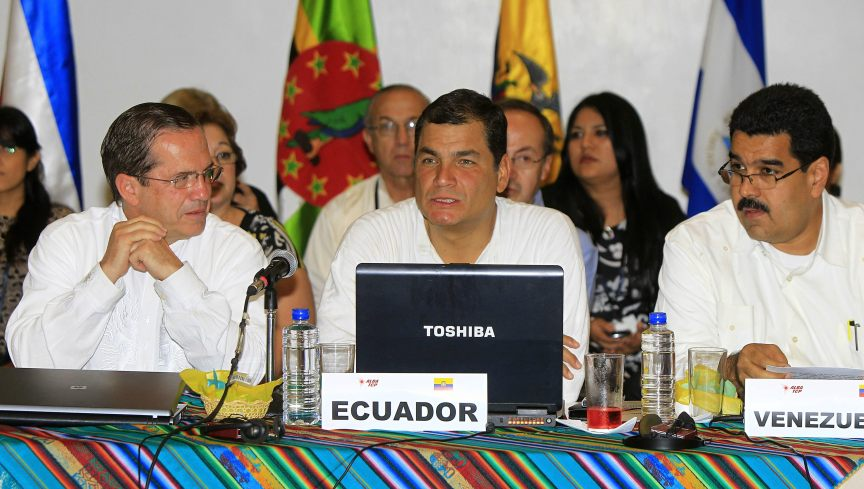 ALBA'S MEETING BEGINS IN GUAYAQUIL