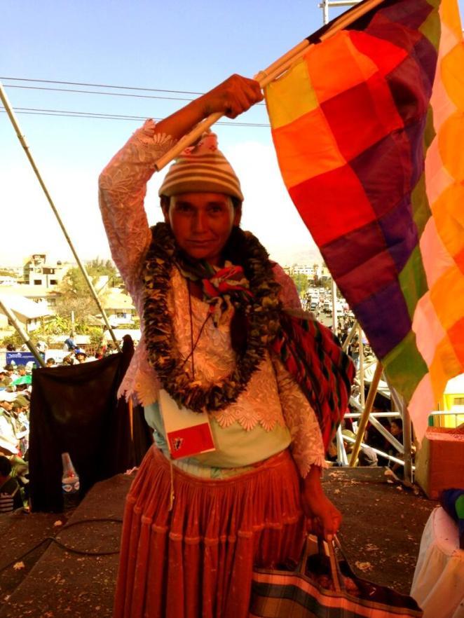 BolivianIndigenousLeader
