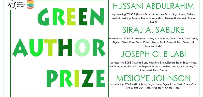 4 NIGERIAN POETS WIN N300,000 WRR GREEN AUTHOR PRIZE 2016