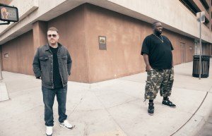 El-P (left) and Killer Mike (right)