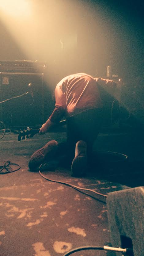 "Dann Christiansen getting really into ""Continental Shelf"" (Photo cred to Nick Jelinek once again)"