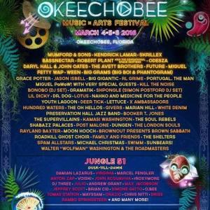 Okeechobee Lineup