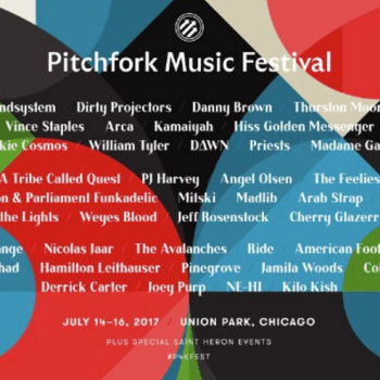 Gearing Up for Pitchfork Music Festival 2017