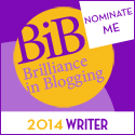 NOMINATE ME BiB 2014 WRITER