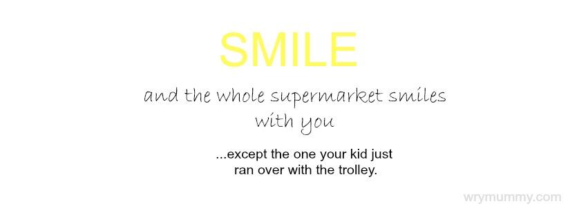 Supermarket Smile