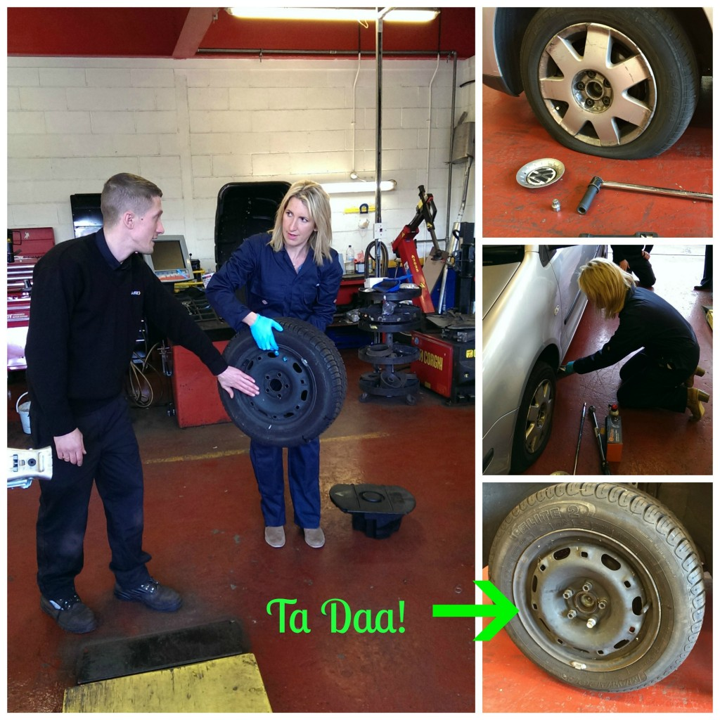 Kwikfit Tyre Change collage ed