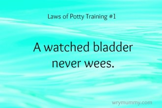 Potty Training Made Easy - A watched bladder