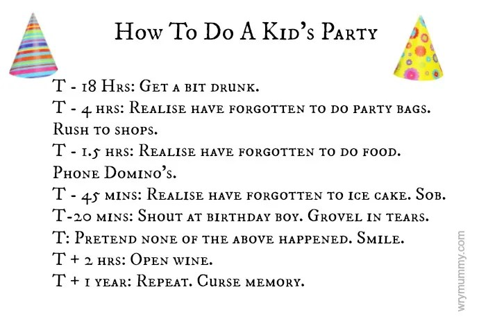 How To Do A Kid's Party