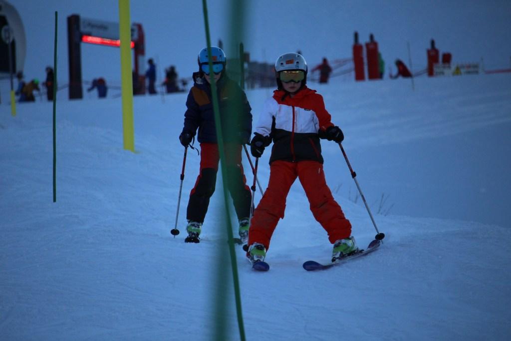 Big boys slalom