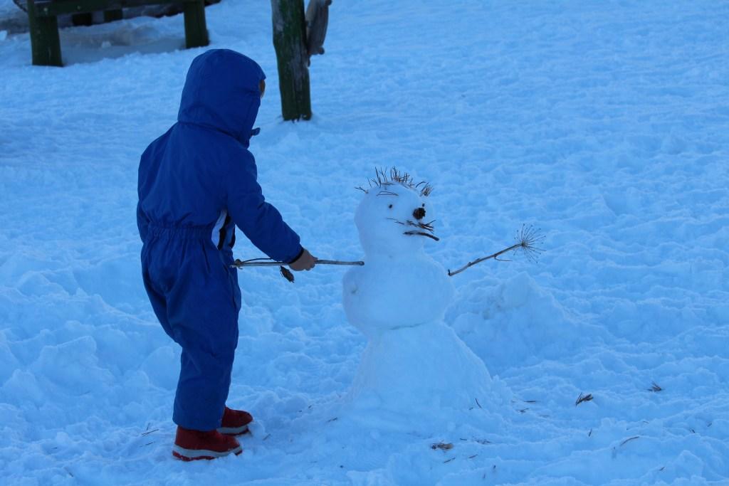 Tinky snowman