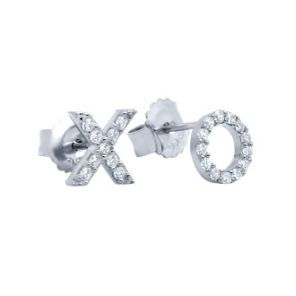 Hug Kiss Earrings - Silver - ALEXI London