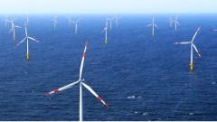 Molinos de viento en el agua
