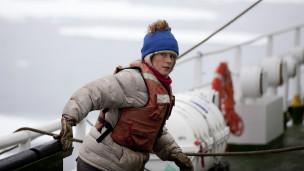 Ana Paula Maciel (em foto cedida pelo Greenpeace)