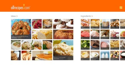 Allrecipes app for Windows in the Windows Store