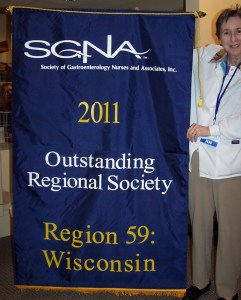 ORS Award 2011 with then WSGNA President Mary Fieblkorn