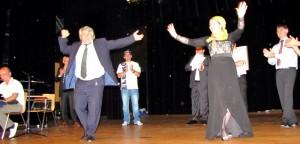 Танцуют Руслан Тахаев и Лимон Дадаева