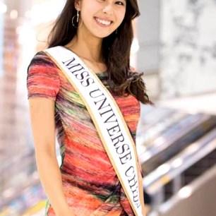 2017日本環球小姐阿部桃子